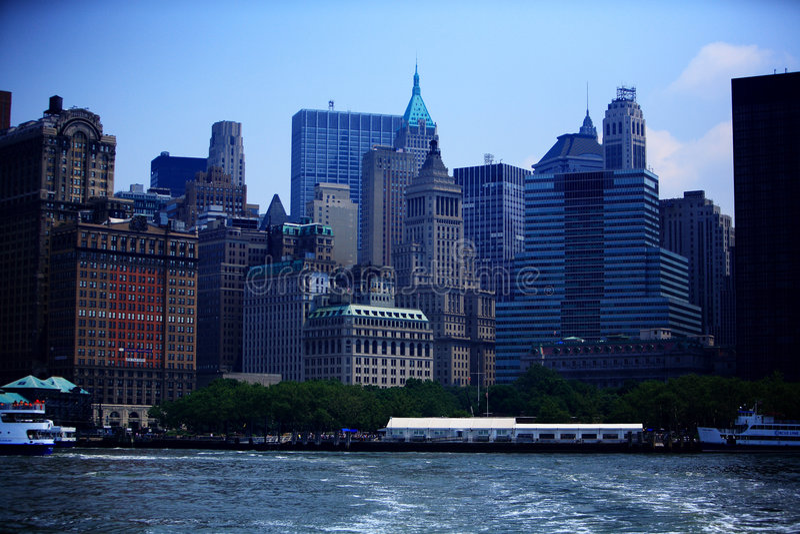 city new york στοκ φωτογραφία με δικαίωμα ελεύθερης χρήσης