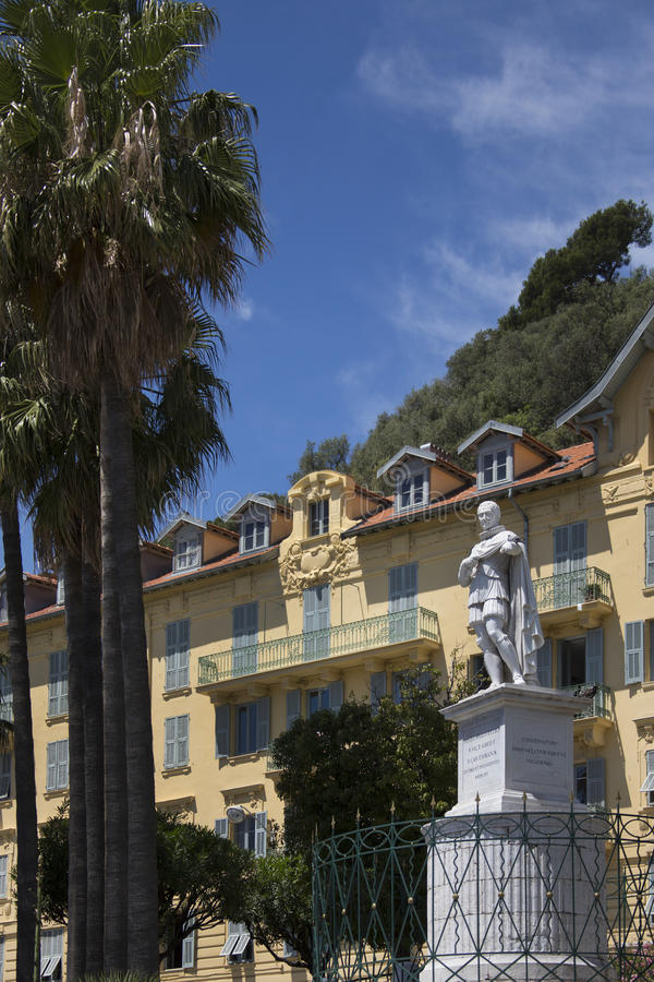 City Of Nice - Cote D Azur - South Of France. Royalty Free Stock Photo