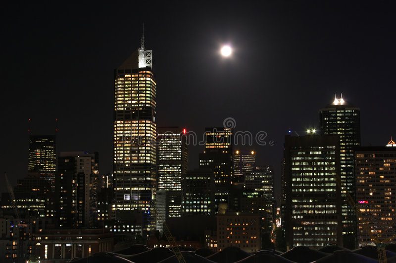 Download City at night stock photo. Image of trip, house, architecture - 1310230