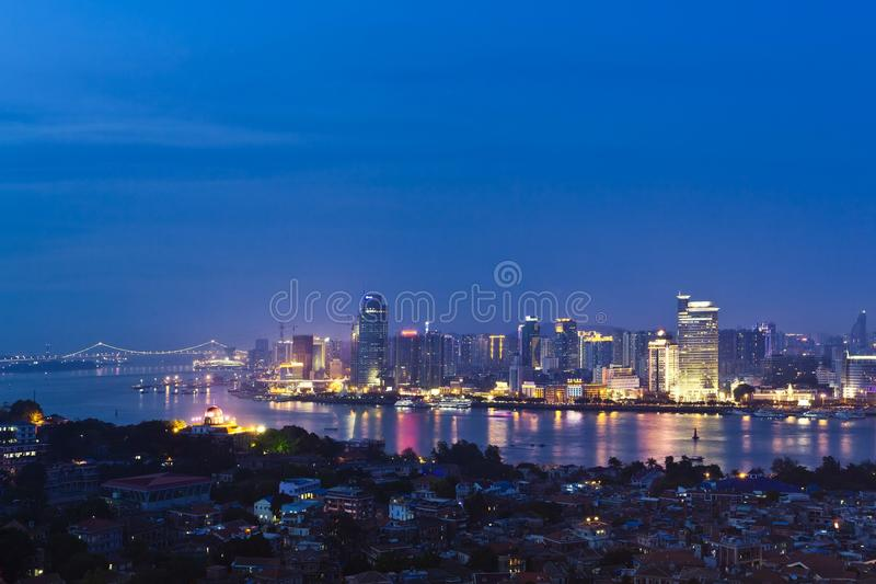 Download City night stock image. Image of power, night, high, asia - 16850805