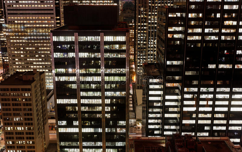 Download City at Night stock photo. Image of downtown, lights - 21589980