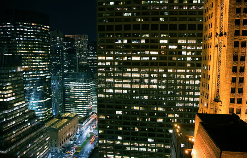 City night stock images