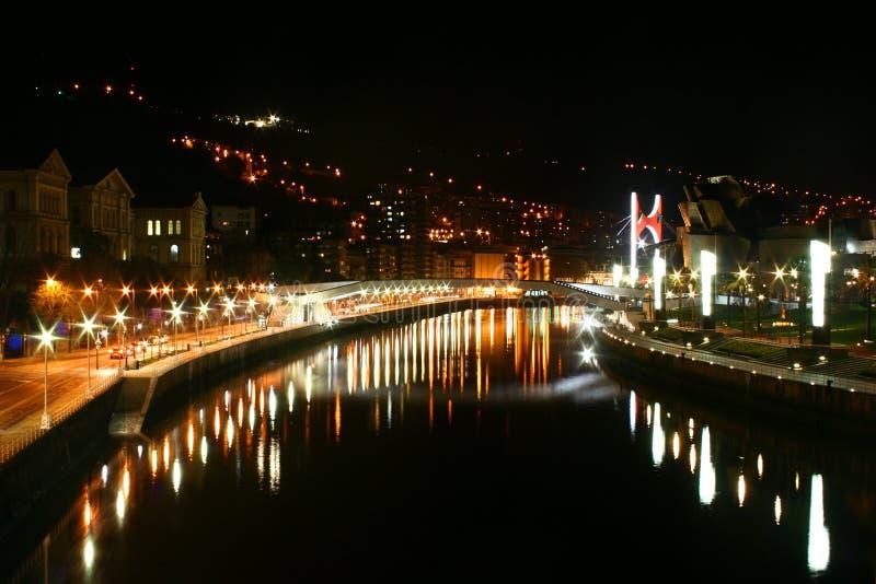 Download City at night stock photo. Image of lighting, night, light - 4093970