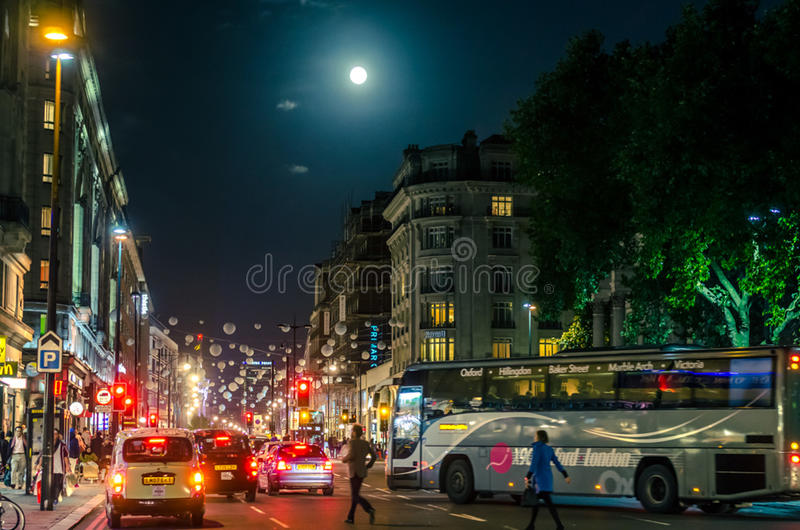 City night life stock images