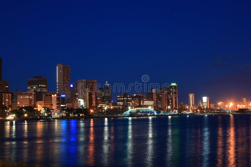 City night scene royalty free stock images