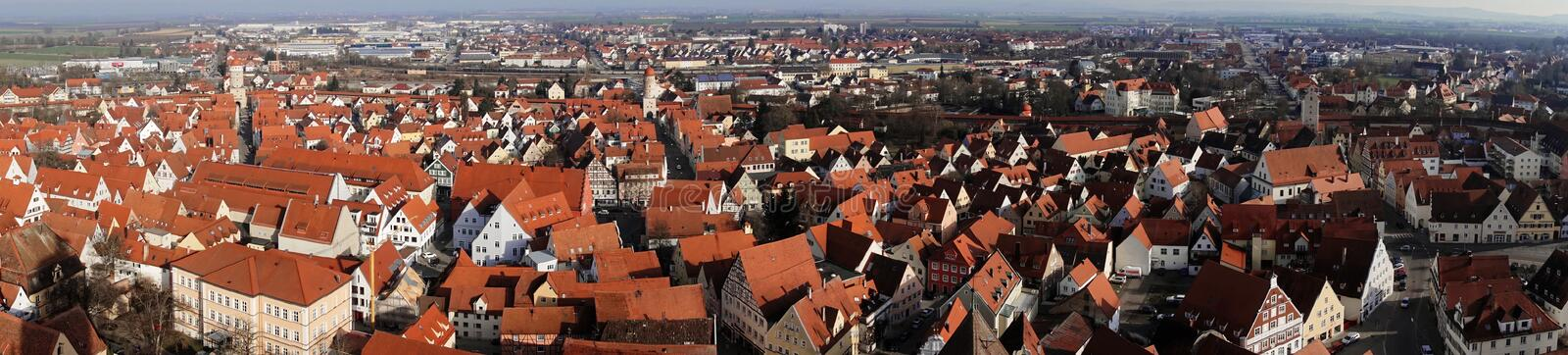 City of Nordlingen royalty free stock photography