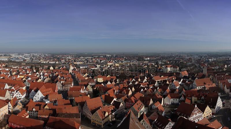 City of Nordlingen royalty free stock image