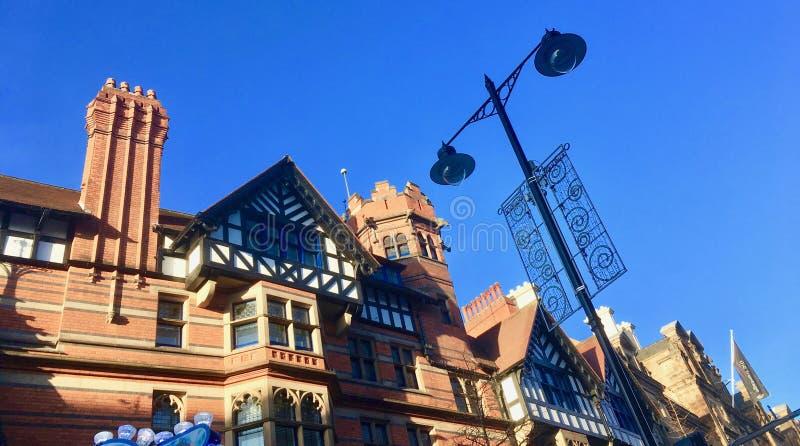 Architecture of Nottingham royalty free stock photos