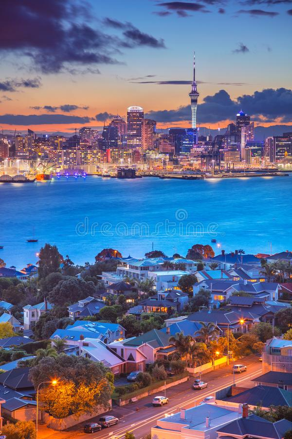 Free City Of Auckland. Stock Photography - 108741052