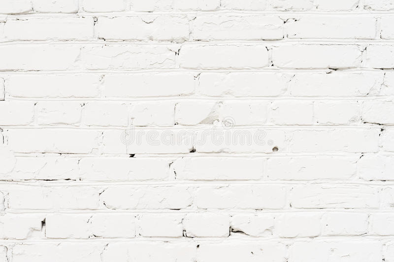 City old painted, plastered brick wall, prepared for drawing creative graffiti. For backgrounds and backdrops. City old painted, plastered brick wall, prepared royalty free stock images