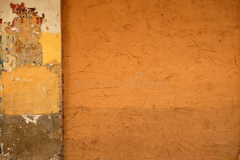 City painted walls colorful urban street royalty free stock photography