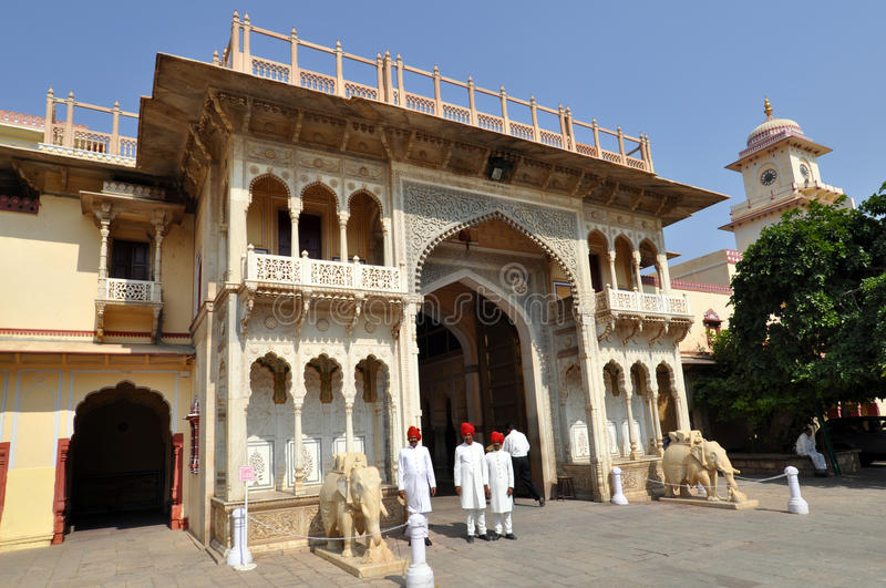 Download City Palace in Jaipur editorial photo. Image of hindu - 17520306