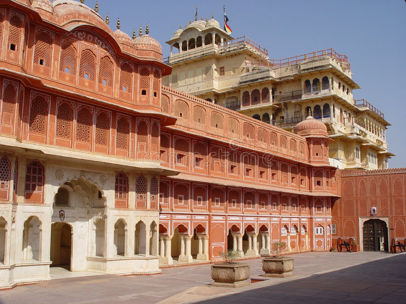 Download City Palace, Jaipur, India stock photo. Image of building - 866100
