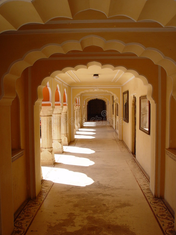 City Palace, Jaipur, India royalty free stock image