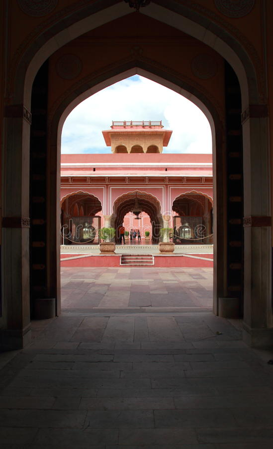 City Palace, Jaipur. Editorial Stock Image