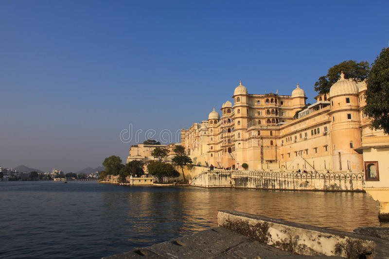 City Palace. Udaipur, is a palace complex in Udaipur, in the Indian state Rajasthan. It was built over a period of nearly 400 years being contributed by stock photos