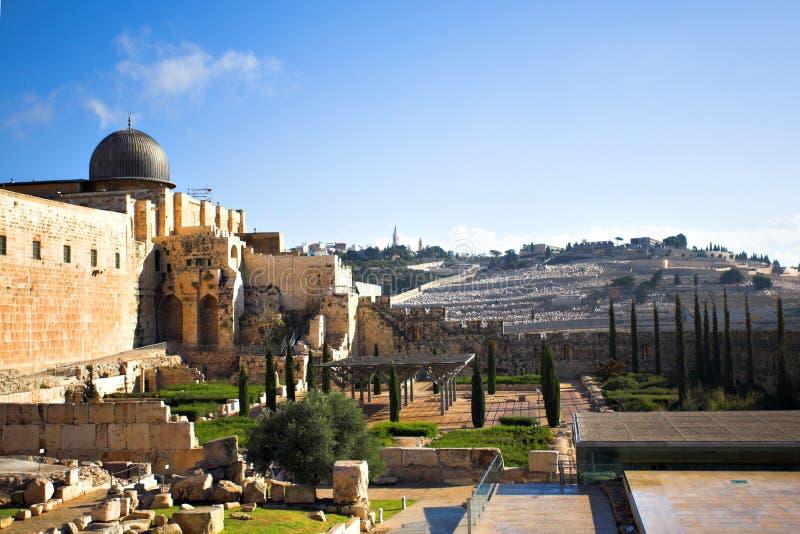 Download City panorama, Jerusalem stock image. Image of church - 8320639