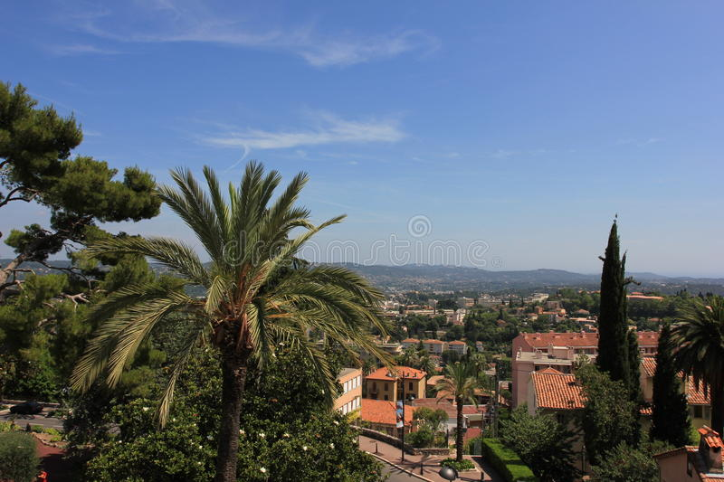 The city of parfum - Grasse, France royalty free stock image