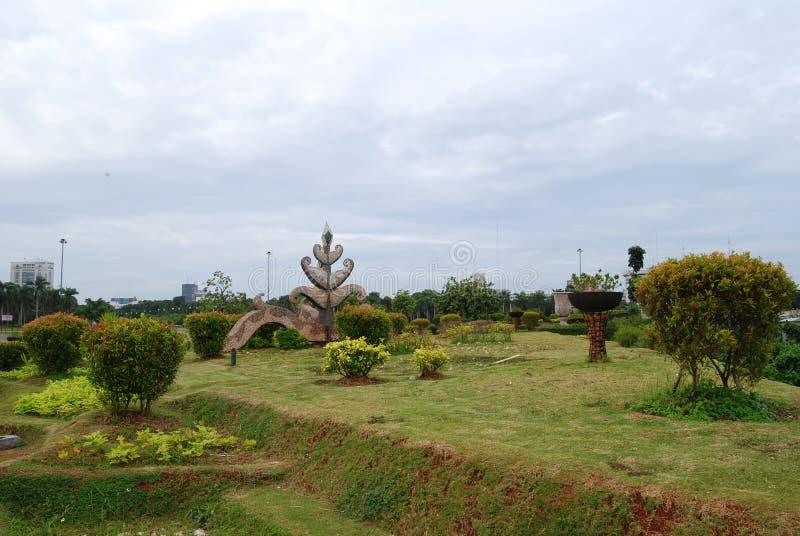 Download City park stock image. Image of monas, garden, green - 17776651