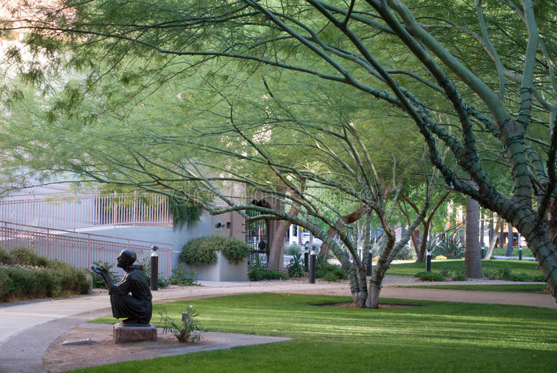 Download City Park stock image. Image of statue, grass, tranquility - 26517833