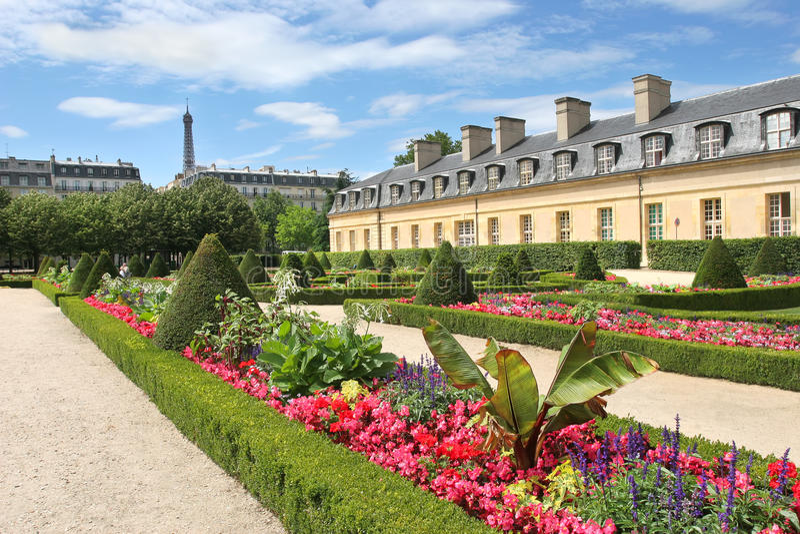 Download City park. Paris, France. stock photo. Image of flowers - 23899070