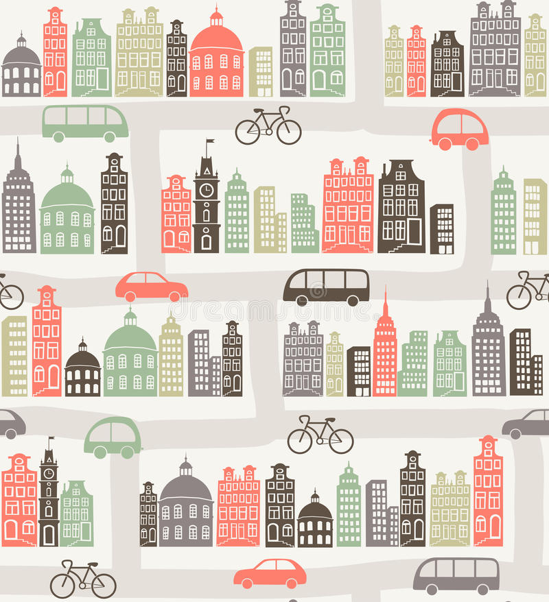 Download City Pattern Royalty Free Stock Photo - Image: 25032975