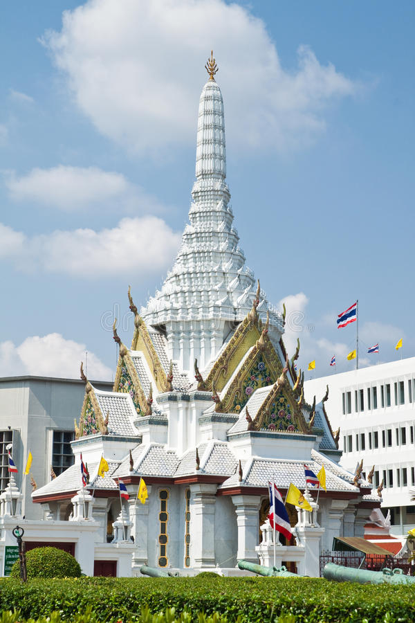 City pillar shrine. Bangkok,Thailand royalty free stock photos