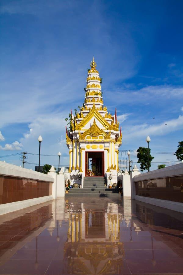 City pillar shrine. Landmark in Phitsanulok, Thailand stock image