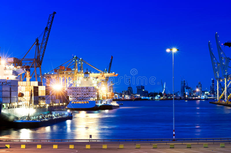 City Port stock images