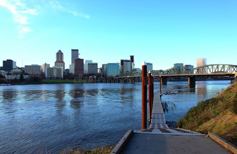 City of Portland Oregon. royalty free stock photography