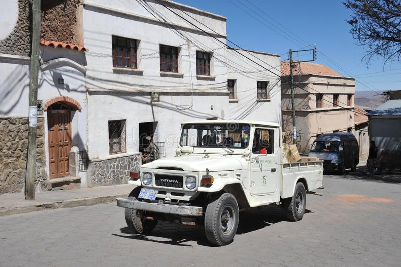 The city Potosi stock photo