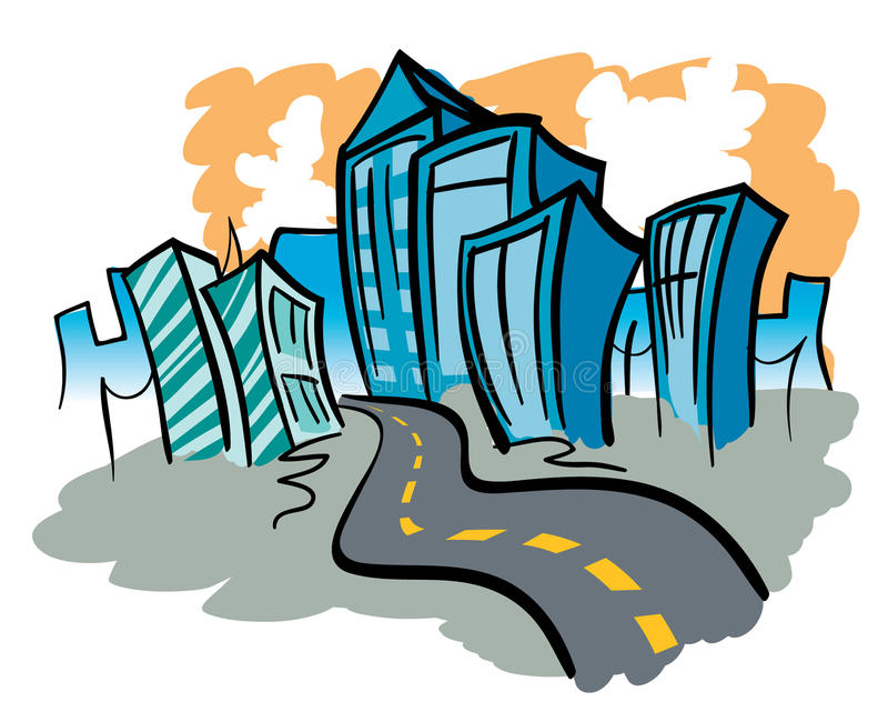 City Road libre illustration