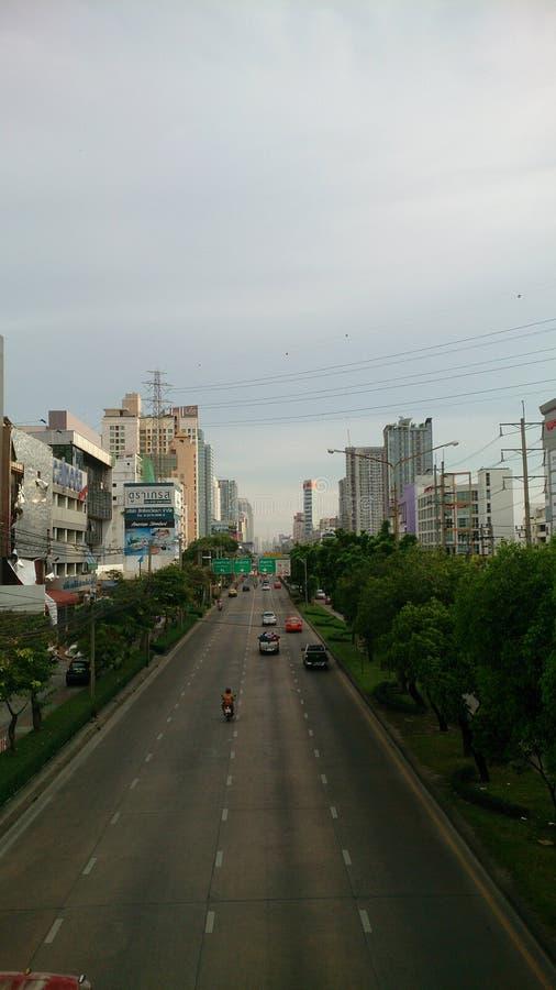 City. Road in the city ,bankkok thailand stock photos