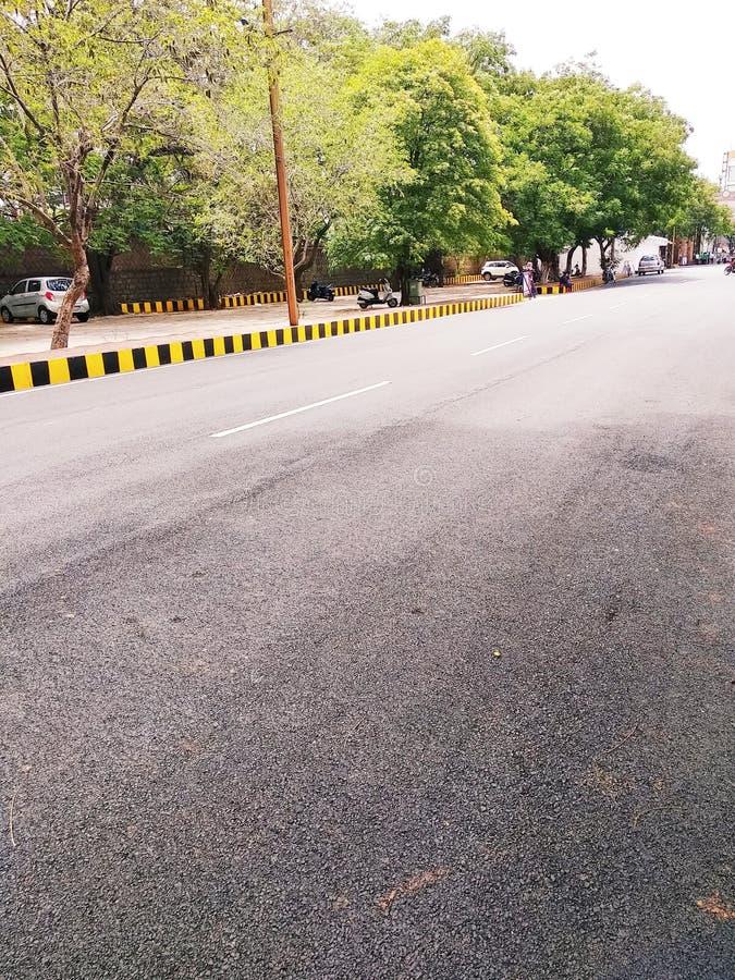 City Road dell'India fotografie stock libere da diritti