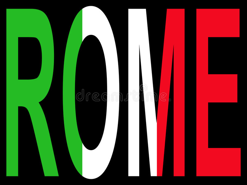 Download City of Rome stock vector. Image of colorful, symbol, colourful - 1979234