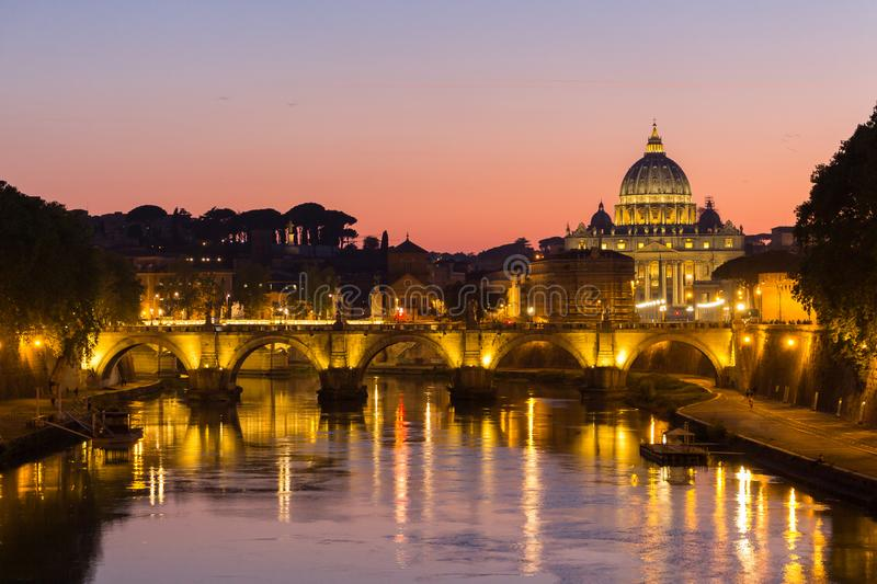 City of Rome, Italy royalty free stock photo