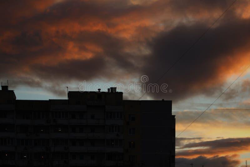 City& x27; s de Krasnodar imagens de stock