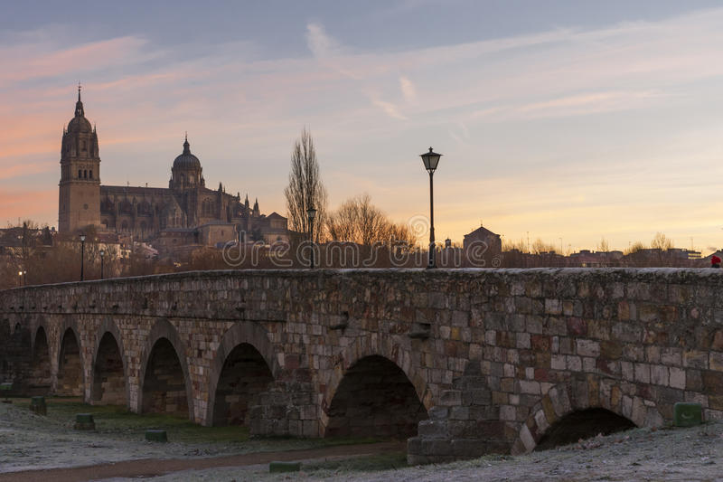 City of Salamanca, Spain royalty free stock photography