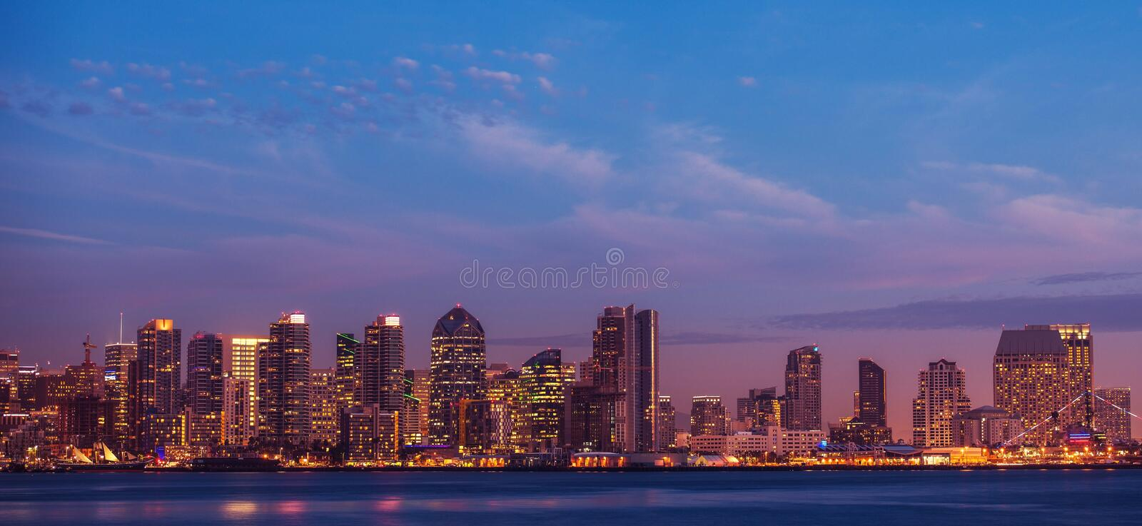 City of San Diego California stock photography