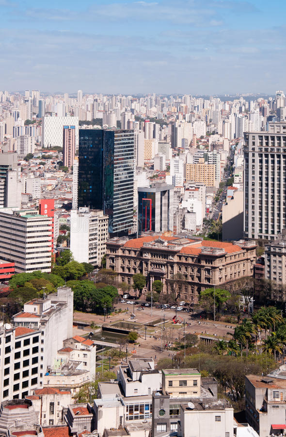Download City sao paulo stock photo. Image of construction, southeastern - 21208578