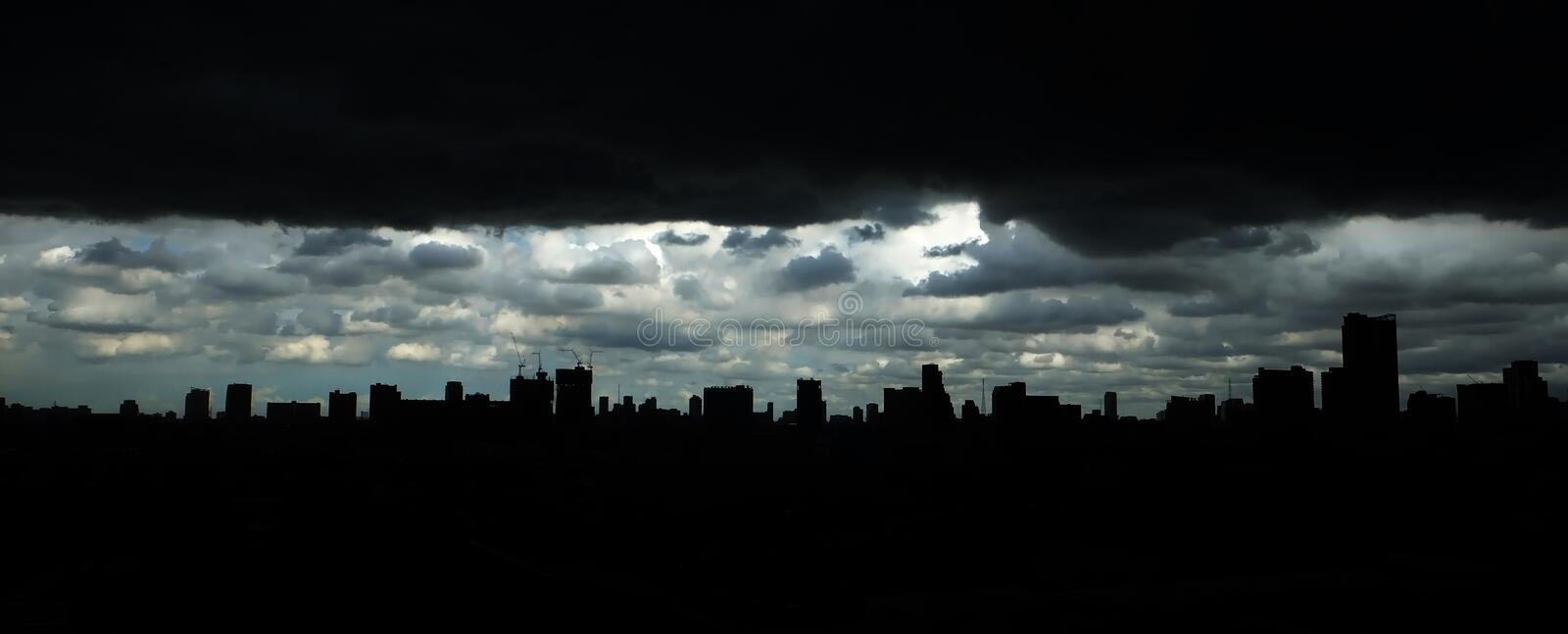 City scape of building royalty free stock images