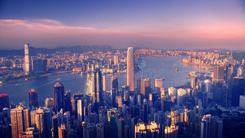 City Scape Buildings Urban Scene Concepts royalty free stock photos