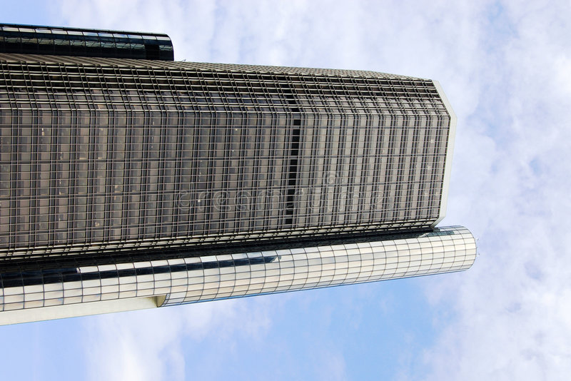 City scape of office building. royalty free stock image