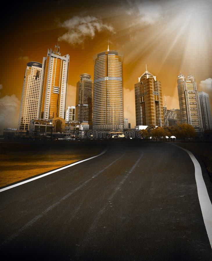 City scene stock images