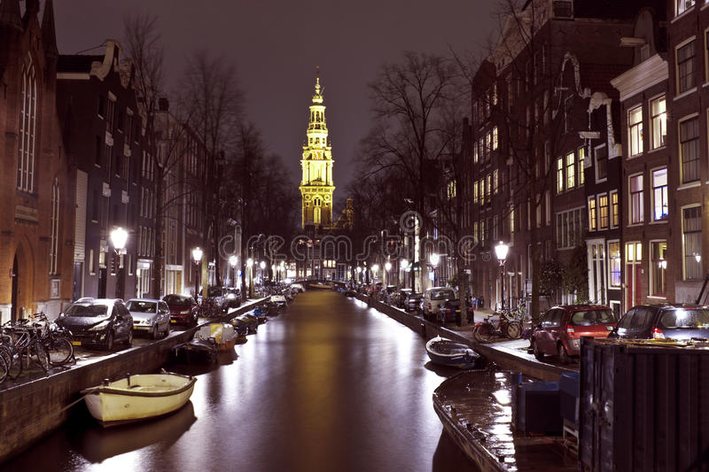City Scenic From Amsterdam In The Netherlands Stock Photography
