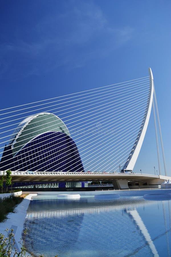 City of science - Valencia Spain royalty free stock photography