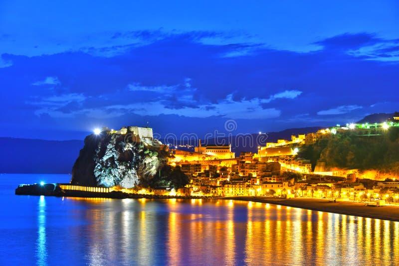 The city of Scilla in the Province of Reggio Calabria, Italy stock photos