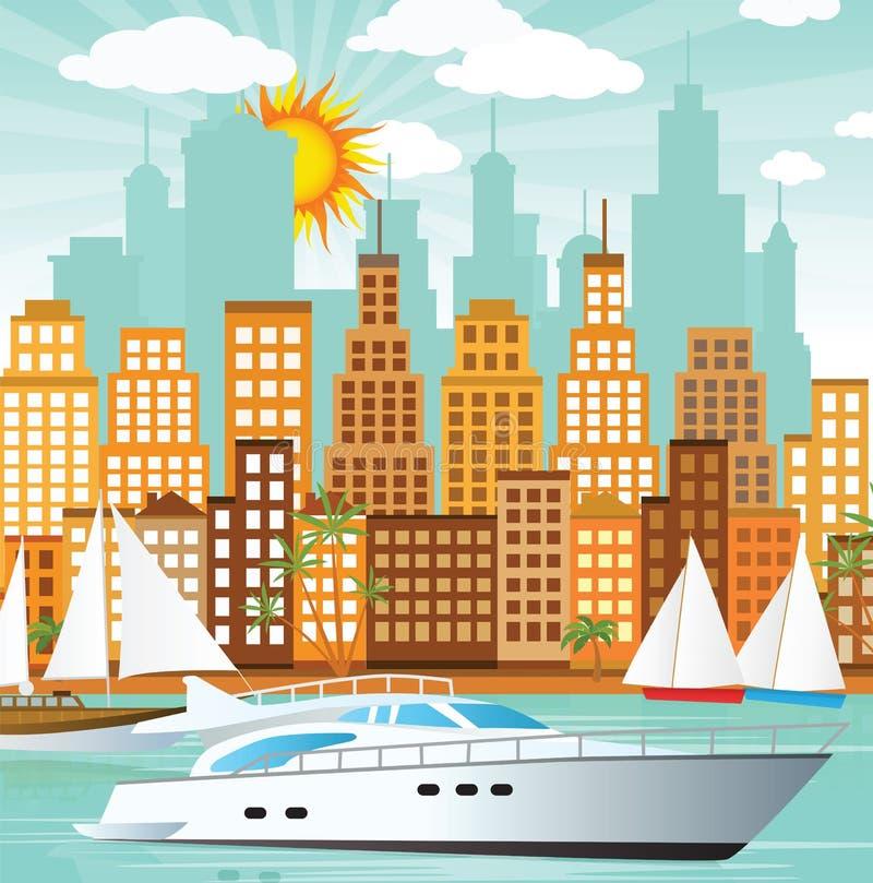 City and sea