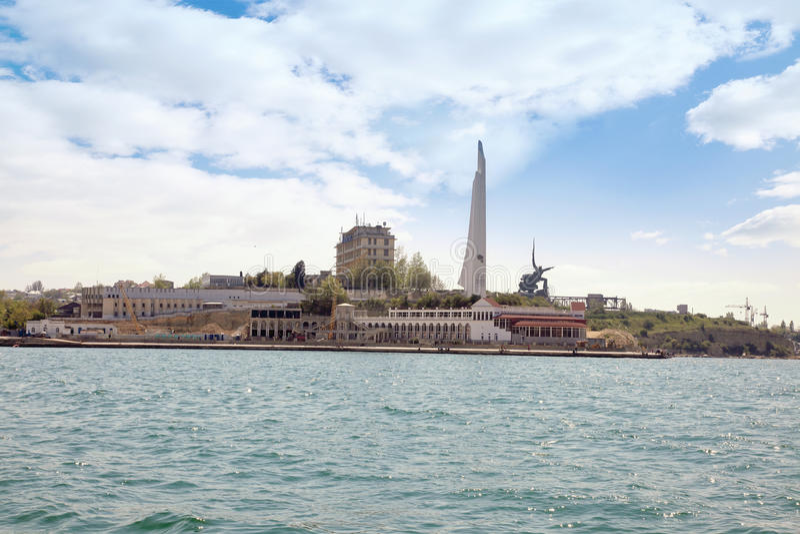 Download City Sevastopol. Obelisk In Honour A City - Hero Editorial Stock Image - Image of town, memory: 39510519