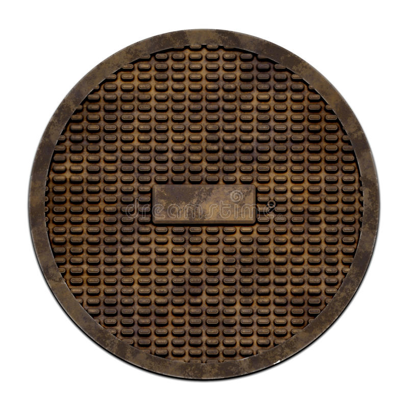 Download City Sewer Cover (Manhole Serie) Stock Image - Image: 29177561